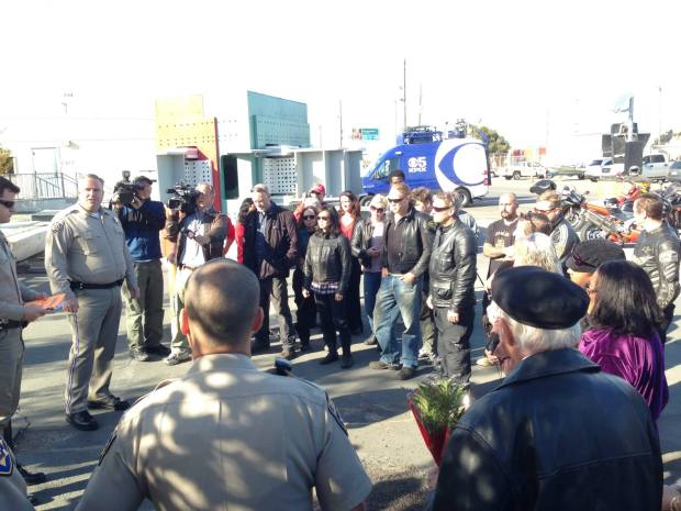 CHP, Caltrans Open Old Bay Bridge To Loved Ones