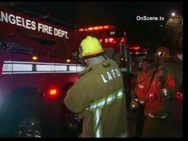 [LA] SUV Crashes Into Car, House