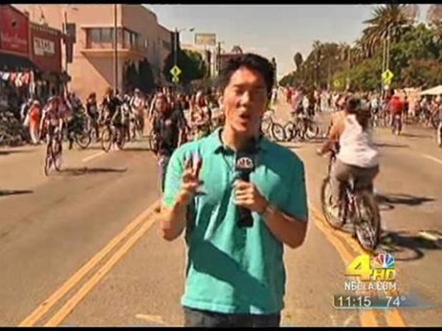 [LA] 100,000 Turn Out for CicLAvia