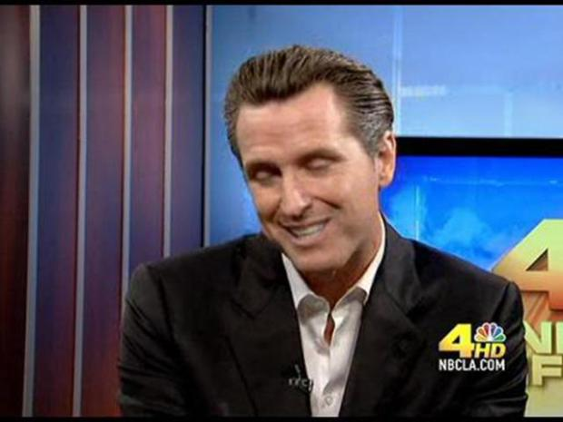 [LA] NewsConference:  Dem. candidate for Lt. Gov., San Francisco Mayor Gavin Newsom