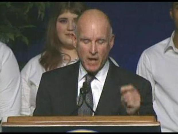 [LA] NewsConference;  Jerry Brown's Inauguration
