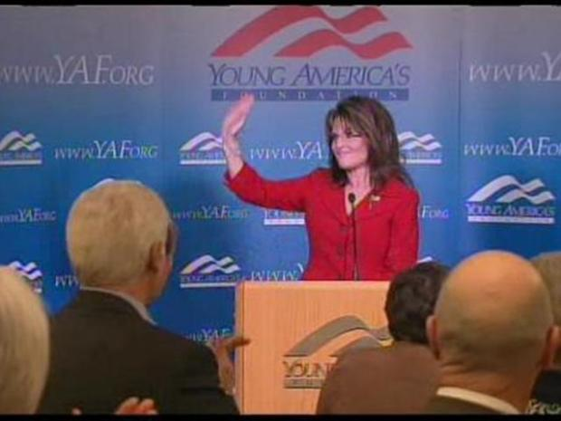[LA] Sarah Palin Recalls Reagan Conservatism at Centennial Kickoff Event