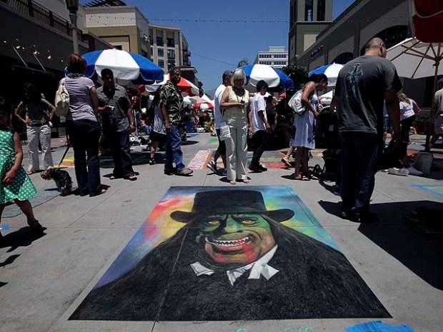 Images: 2010 Pasadena Chalk Festival