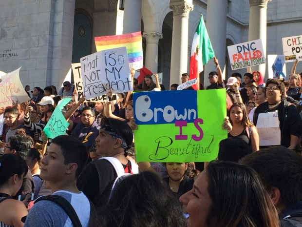 [LA GALLERY] Post-Election Protests, Marches in Los Angeles