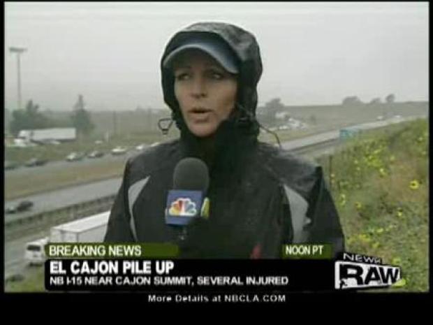 [LA] Cajon Pass Pileup