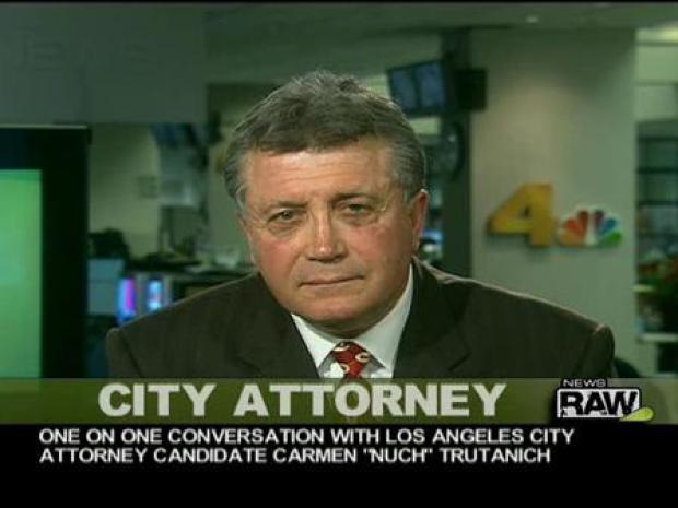 [LA] City Attorney Race Carmen Trutanich