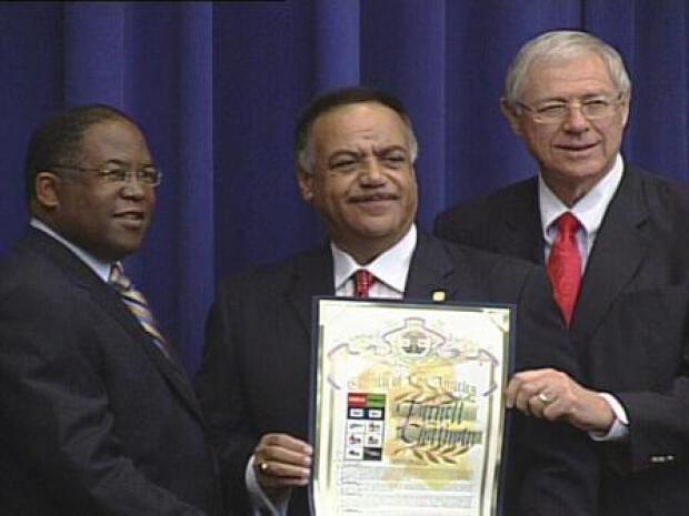[LA] Furnell Chatman Honored