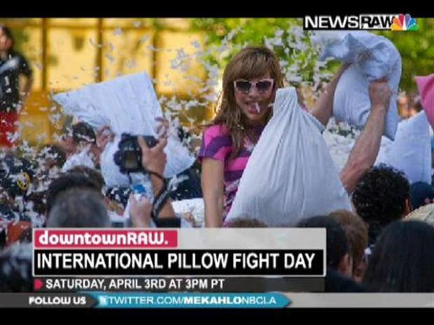 [LA] Downtown Raw: Pillow Fight This Saturday