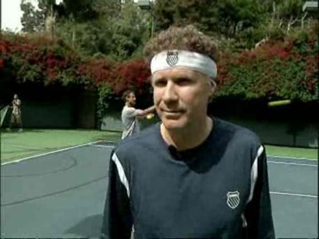 [LA] Will Ferrell, Tennis Star?