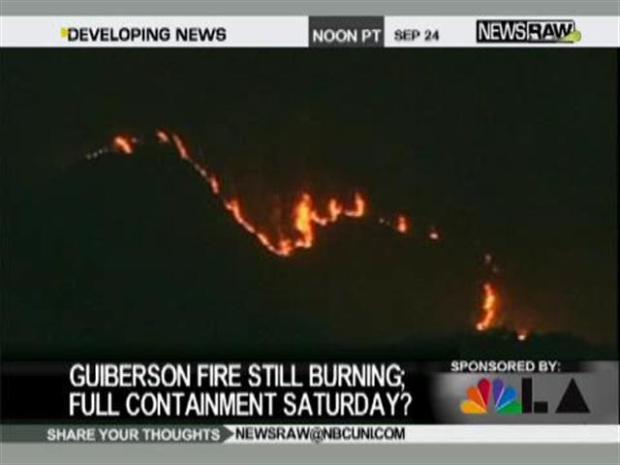[LA] Guiberson Fire Update