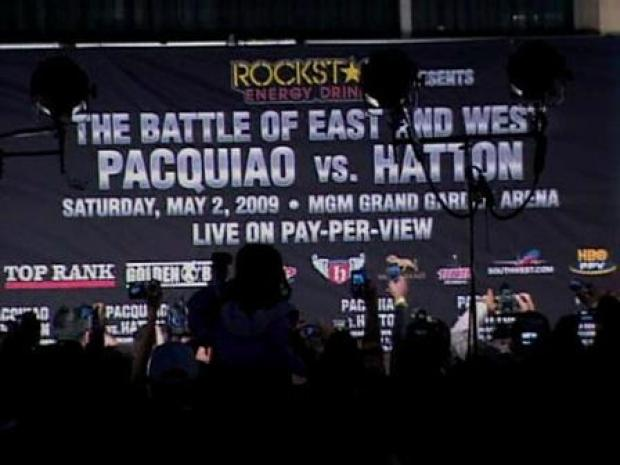 [LA] Arrivals at the Hatton-Pacquiao Roosevelt Event