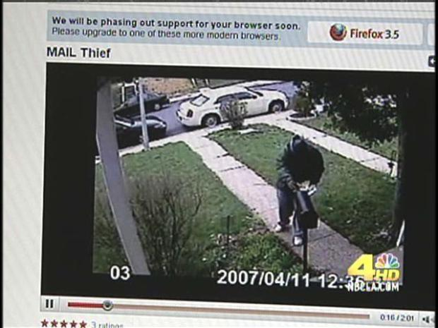 [LA] Caught on Camera: Mailbox Thieves