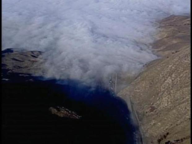 [LA] Fog Blankets Grapevine (RAW)