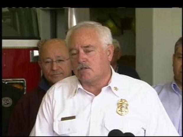 [LA] Mid-Day Update: Fire Chief Discusses Montecito Blaze