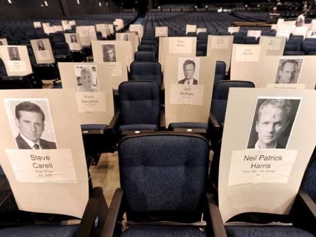 [LA] Nokia Theater Prepares for Emmy Awards