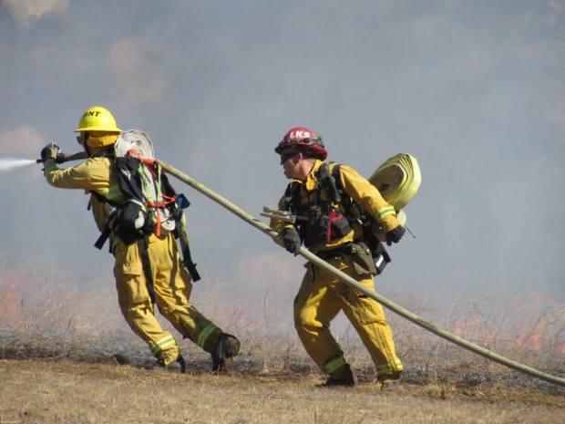 Lakeside Brush Fire Blackens 15 Acres