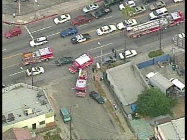 [LA] Dodger Parking Lot Stabbing Sends Man to Hospital