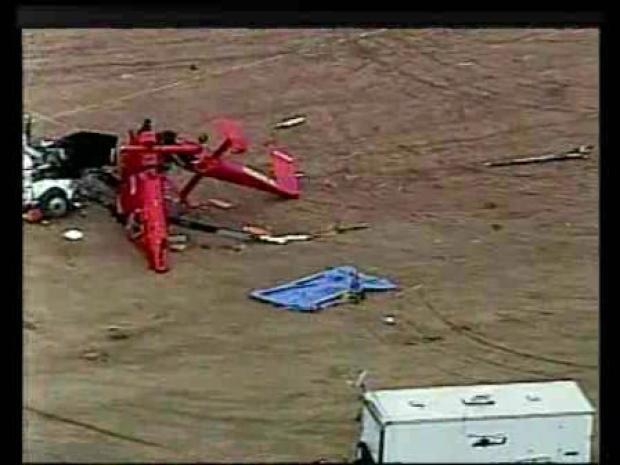 [LA] 1 Killed in Chopper Crash