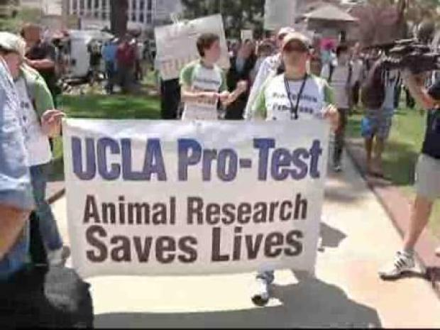 [LA] Scientists, Activists Protest at UCLA