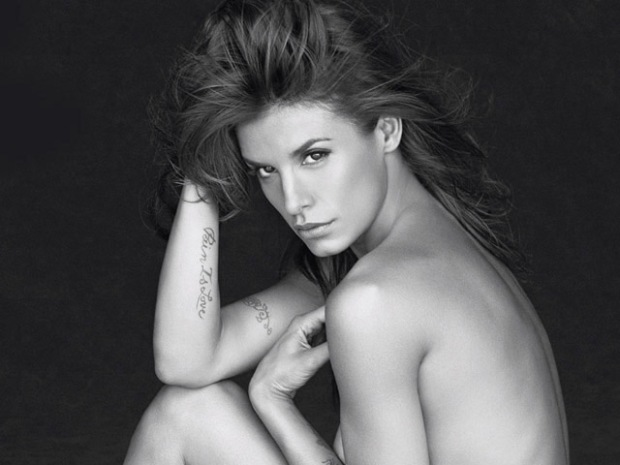 [NATL] Bare-It-All PETA Ads: Elisabetta Canalis' Sexy Shoot