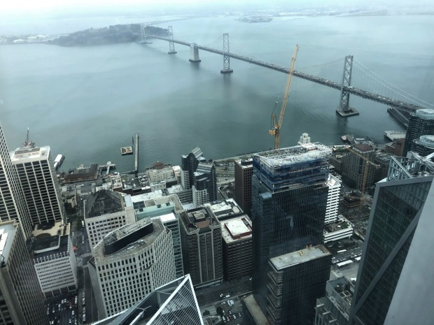 Photos: Views From the Top of Salesforce Tower