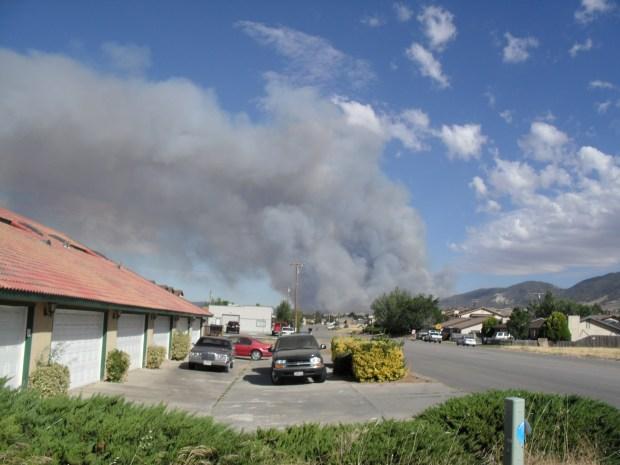 Viewer Photos: July 2010 Tehachapi Fire