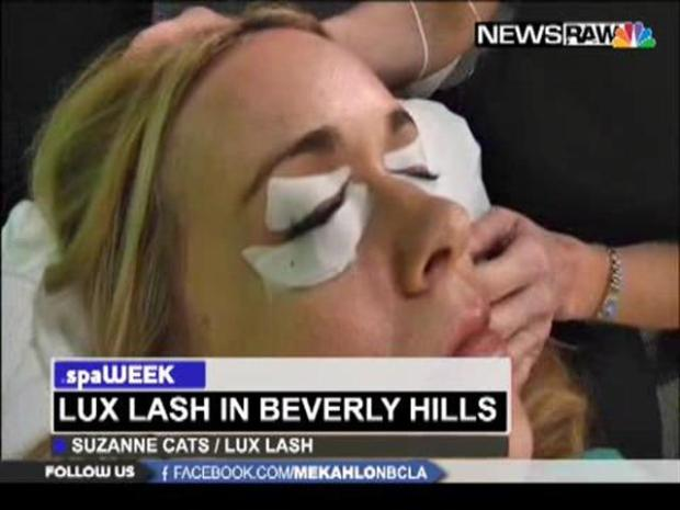 [LA] Spa Week: Lux Lash