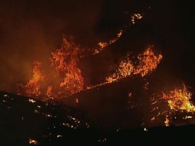 October 2008 - Marek, Sesnon Wildfires