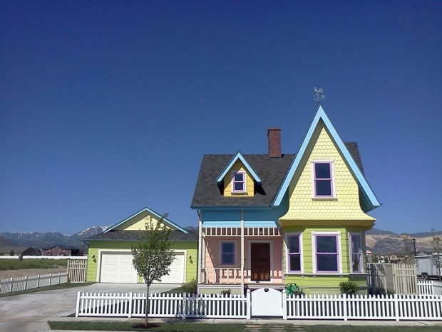 "Replica of the House from Disney-Pixar's ""Up"" for $400K"