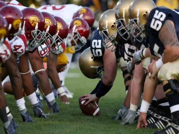 USC Battled Notre Dame: Trojan Streak Pushed to 8