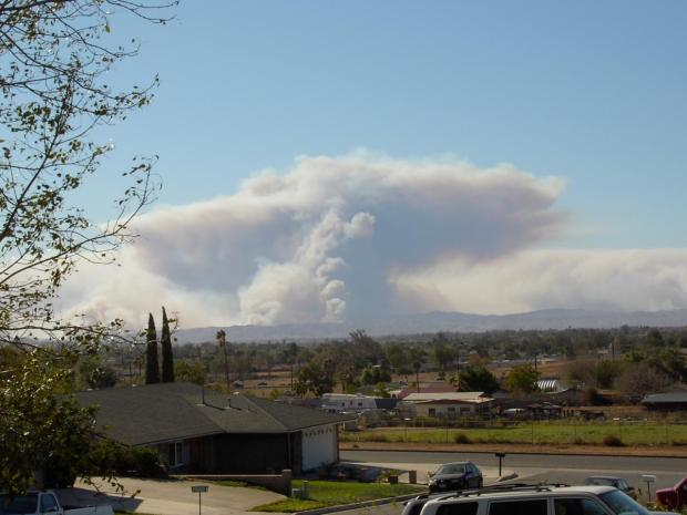 November 2008: Viewer Images from SoCal Fires (Part 1)