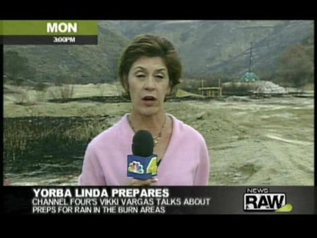 [LA] Rain Coming, Yorba Linda Prepares