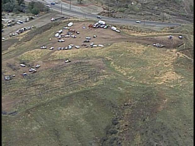 Dec. 17, 2008: Chopper Flips in Antelope Valley