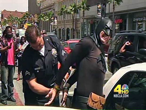 [LA] Caped Crusader in Custody