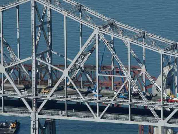 In Pictures: Bay Bridge Cable Collapse