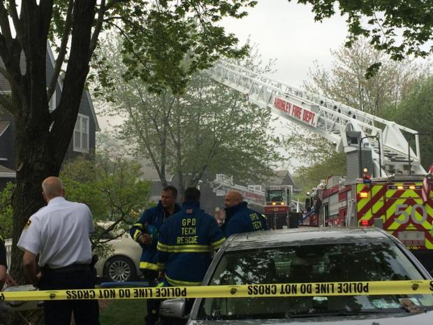 PHOTOS: Firefighters Battle Westchester Condo Blaze After Explosion