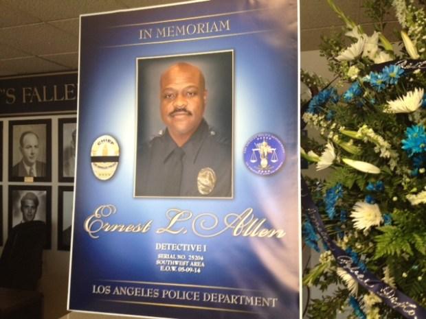 [LA] LAPD Celebrates Life of Detective Ernest Allen