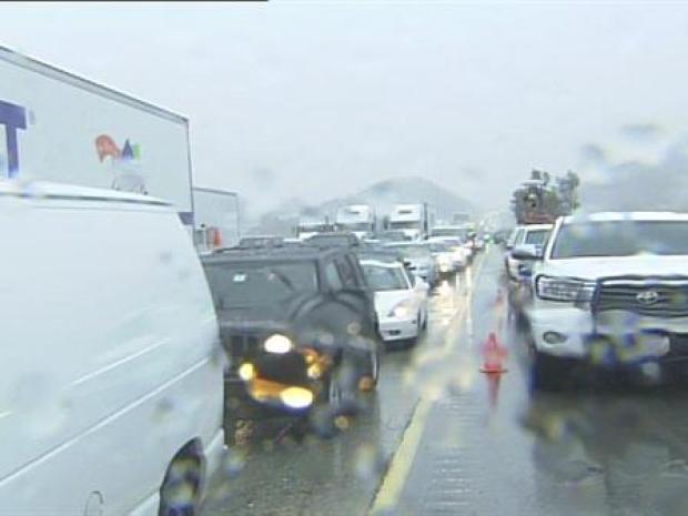 [LA] Northbound 15 Freeway at Standstill