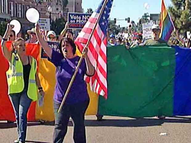 Nov. 8, 2008: Thousands March Against Prop. 8