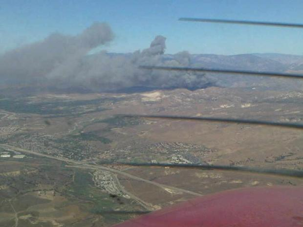 Viewer Images: Guiberson, Norco Fires