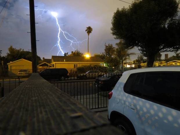 Rare Lightning Lights Up Bay Area Skies