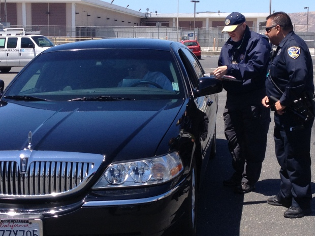 [BAY] Surprise Checkpoint for Limo Drivers, Shuttles at SFO