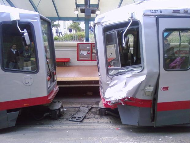 SF Muni Train Crash Injures Dozens