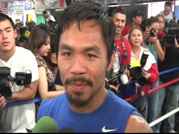 [LA] Manny Pacquiao Is Back in Hollywood