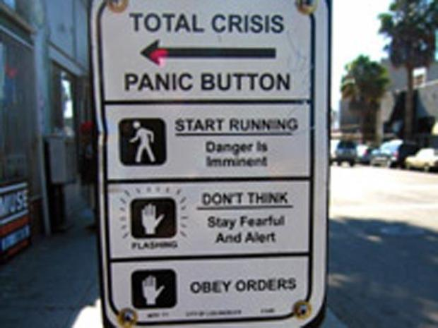 [LA] Crosswalk Crisis Signs