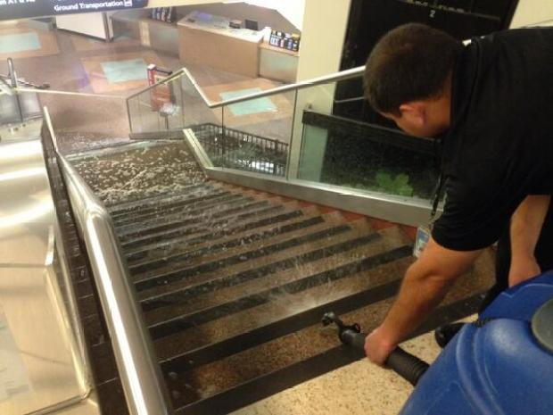 [BAY] SJC Terminal A Evacuated After Water Main Break