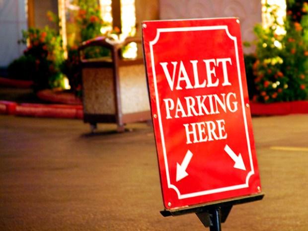 valet parking marketing