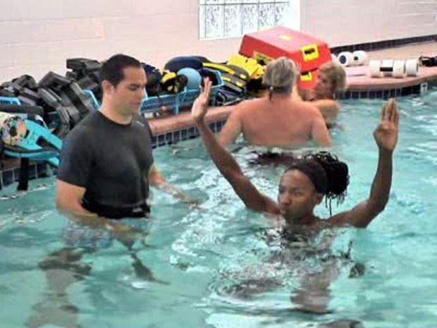 [LA] Water Workouts Help Heal Injuries