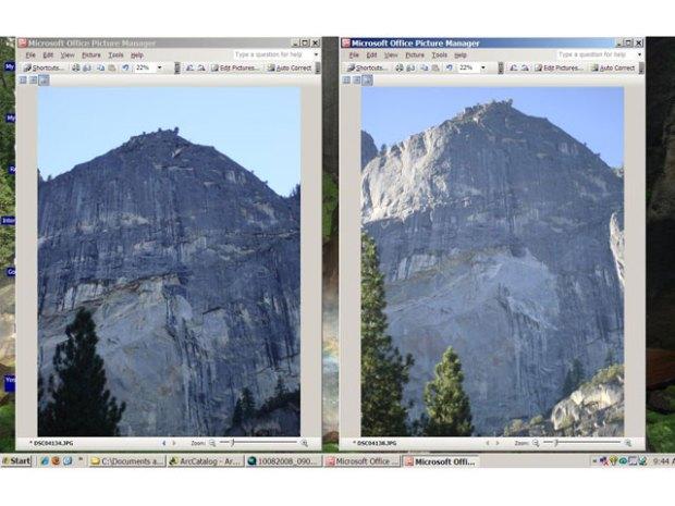 Earth Moves In Yosemite