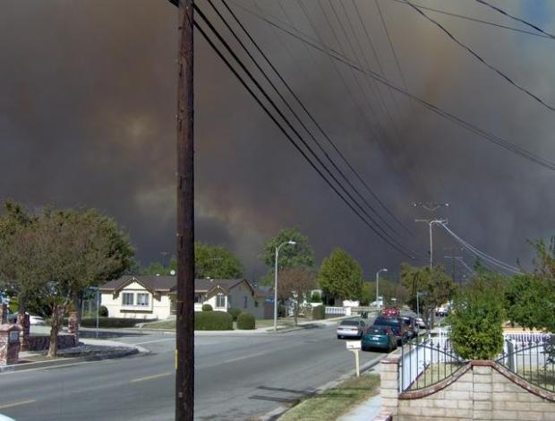 Your Great Photos of October 2008 SoCal Wildfires